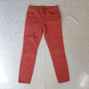 Madewell Skinny Coral Jeans